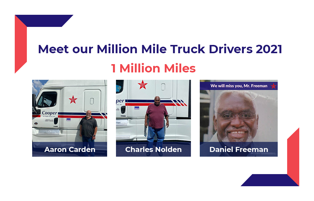 One Million Mile Truck Drivers